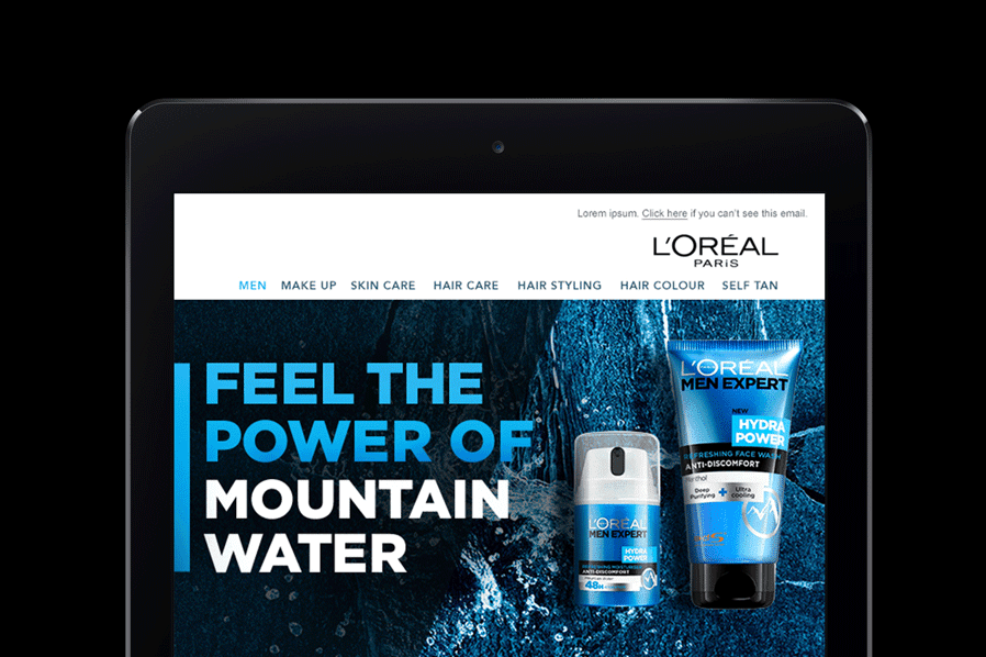 L'Oreal Email Campaigns