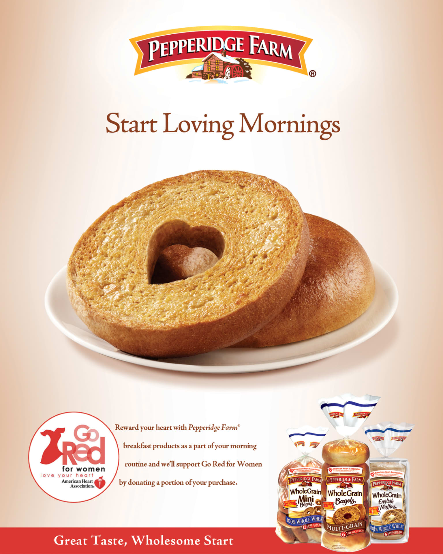 Whole Grain Bagel Launch - Pepperidge Farm