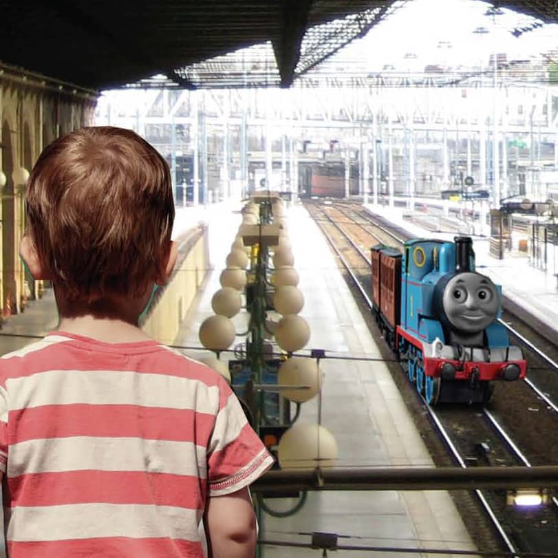 thomas and friends :: never stop believing
