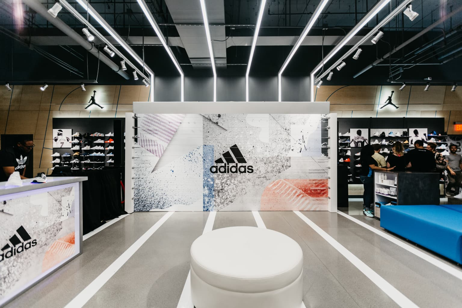 Adidas Finish Line In-Store Activation