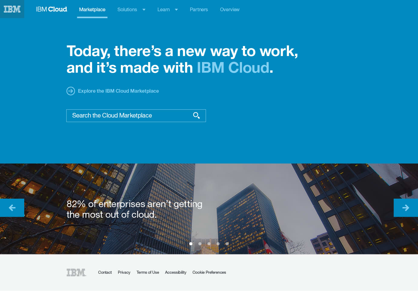 IBM Cloud Marketplace
