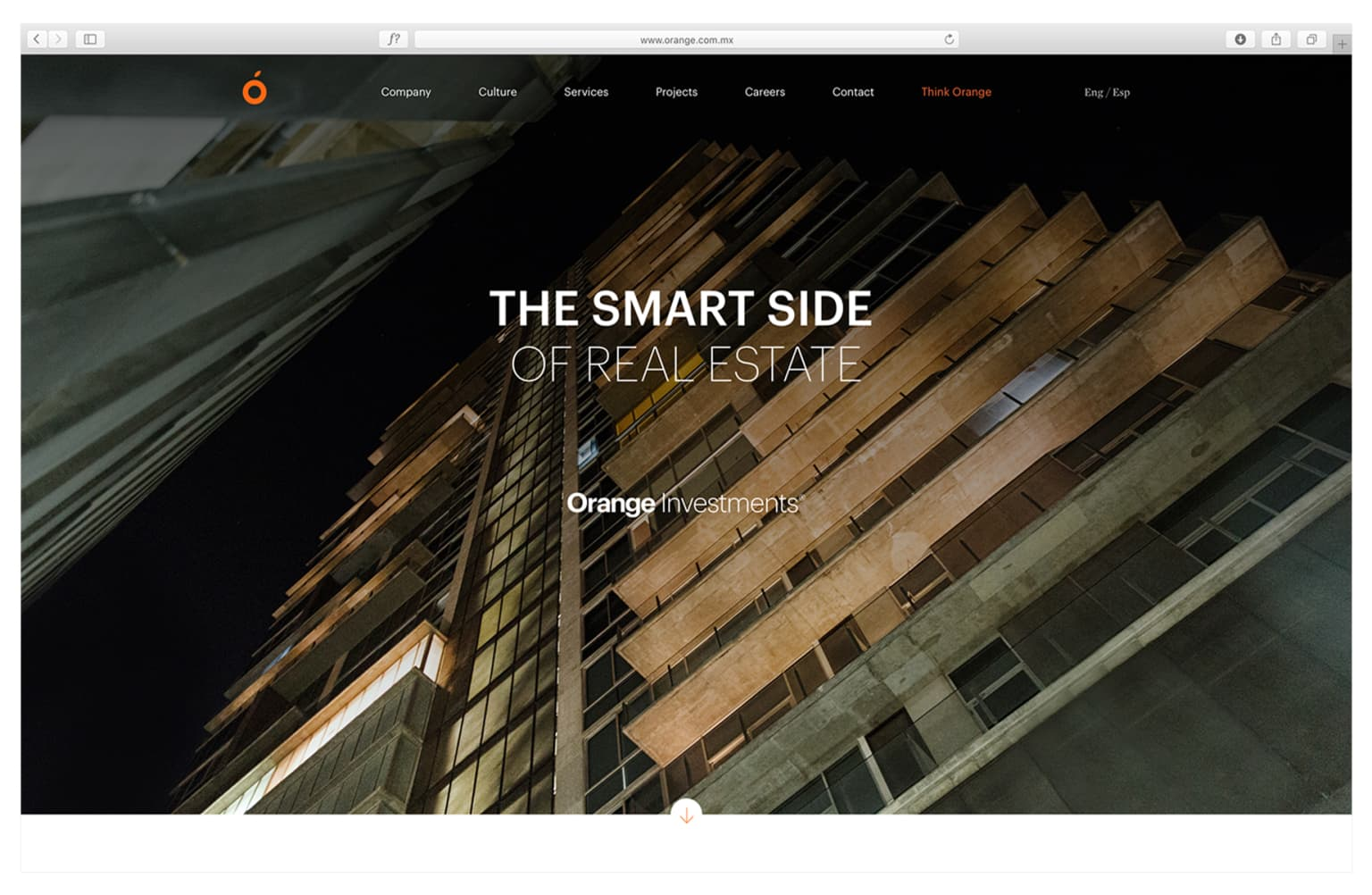 ORANGE INVESTMENTS Website