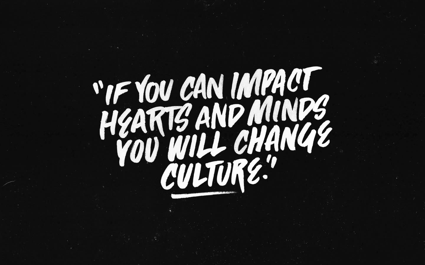 """Socality """"Change Culture"""" Lettering"""