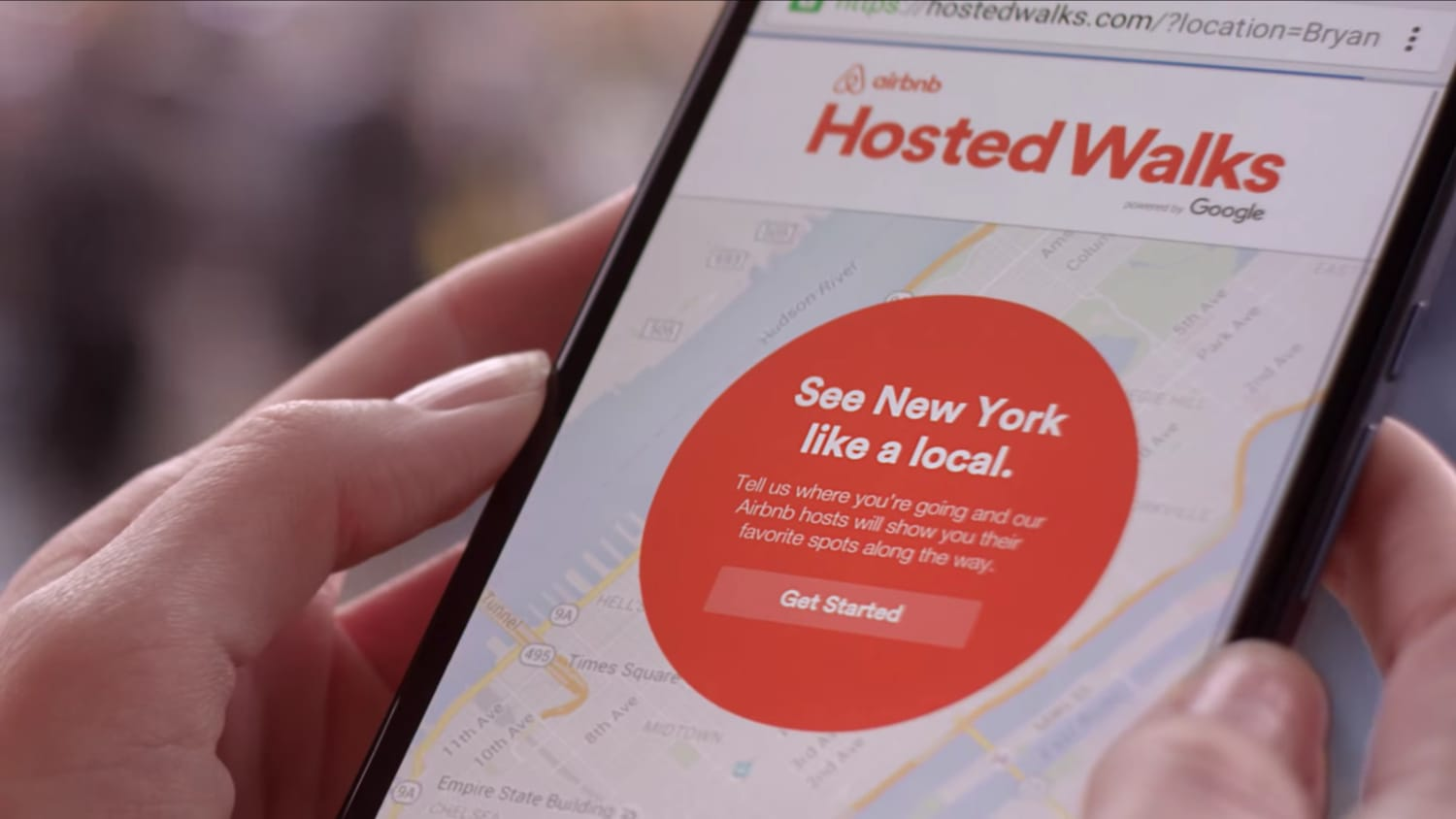 Google & airbnb - Hosted Walks