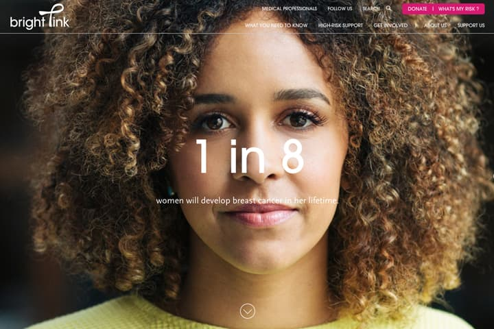 Branding/Art Direction: Bright Pink Breast Cancer Awareness Campaign *2016 Webby Winner*