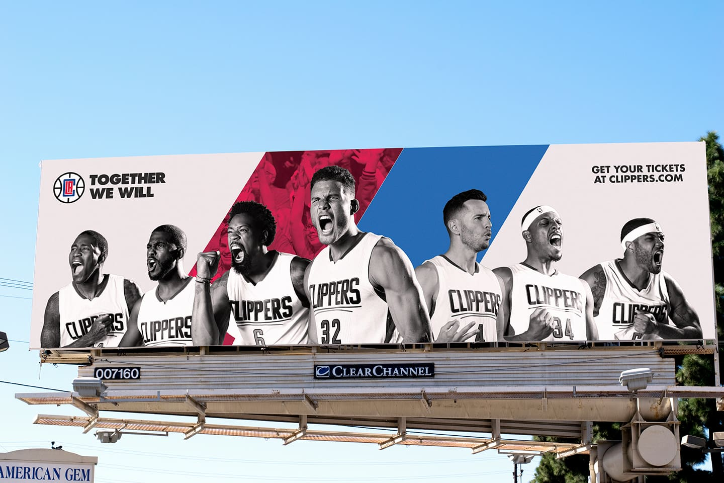 """Clippers """"Together We Will"""""""