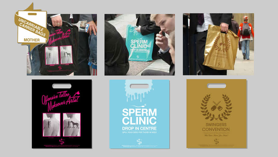 Mother - The Uncarriable Carrier Bags