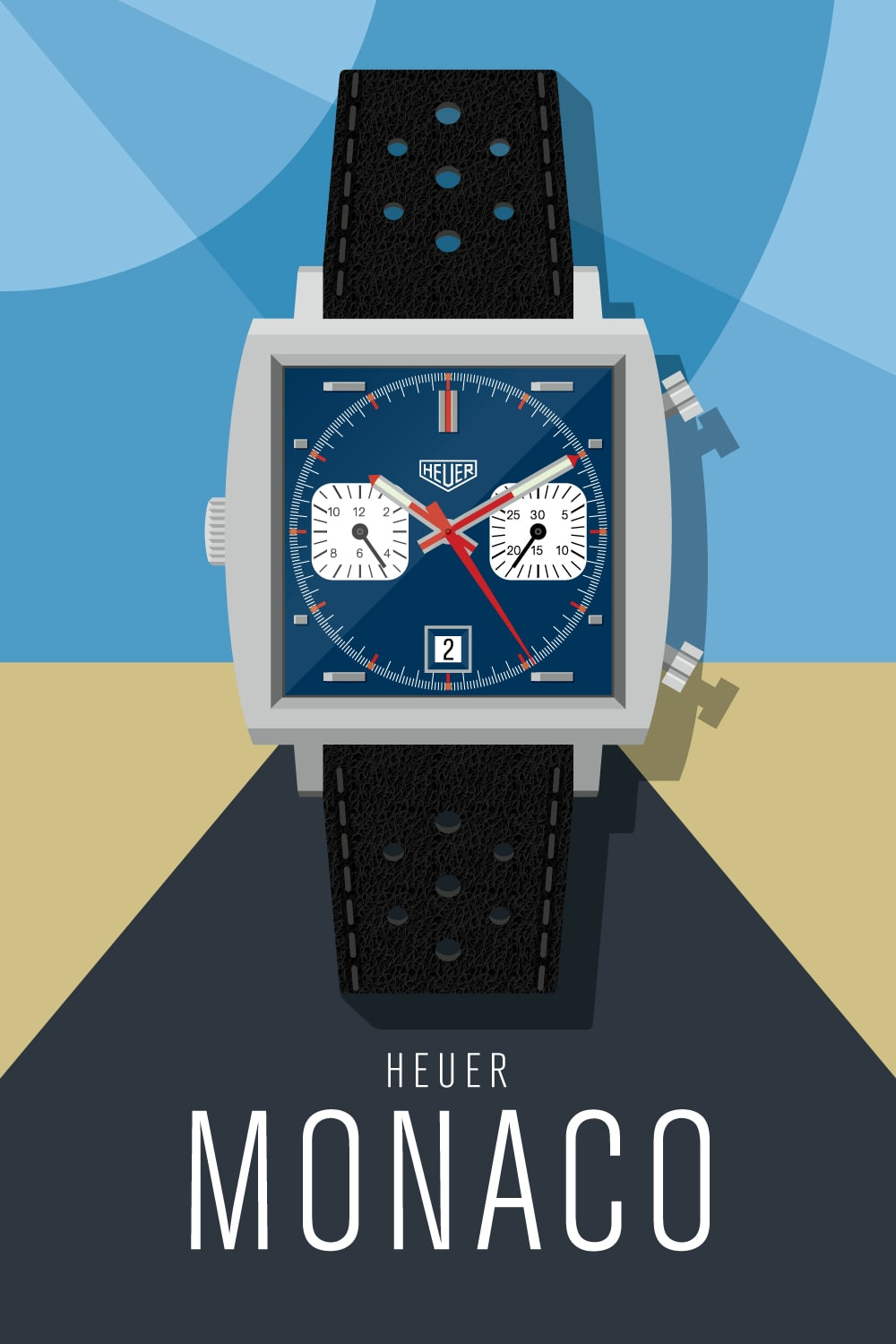 Time Machines – watch illustrations