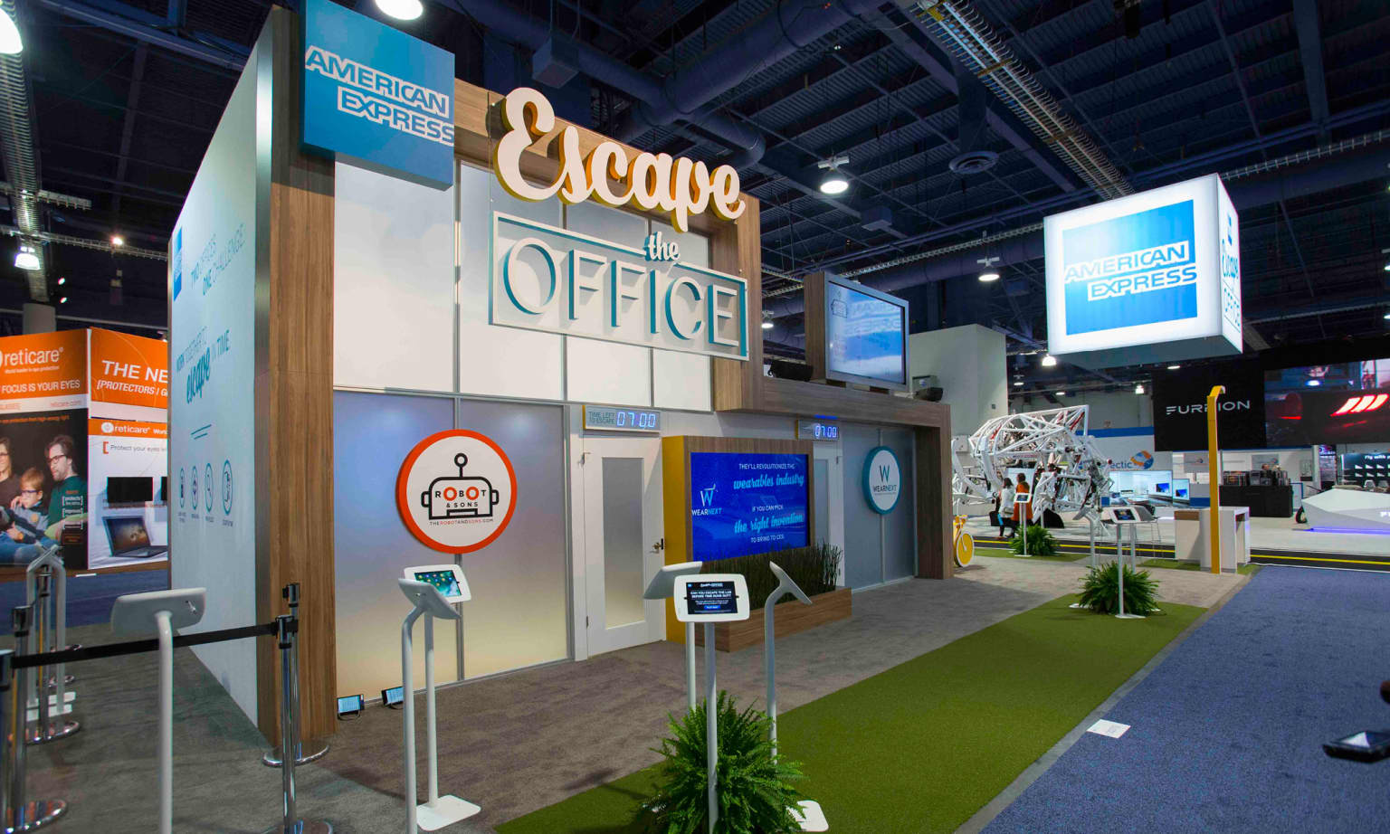 Escape the Office (American Express)