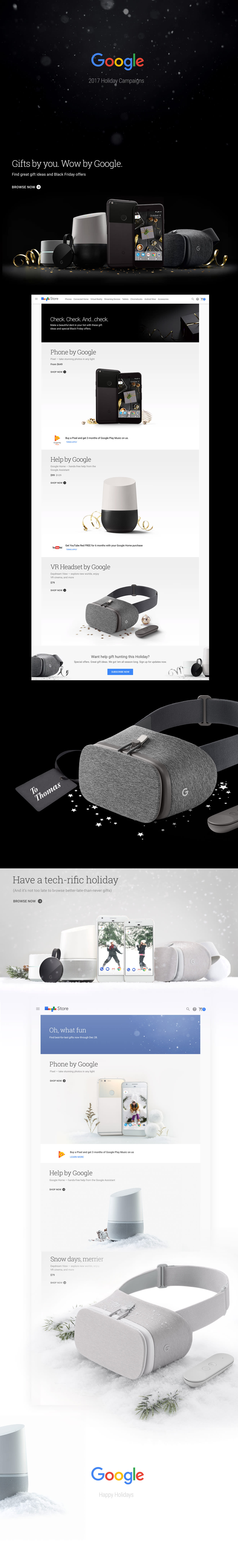 2017 Google Holiday Campaigns