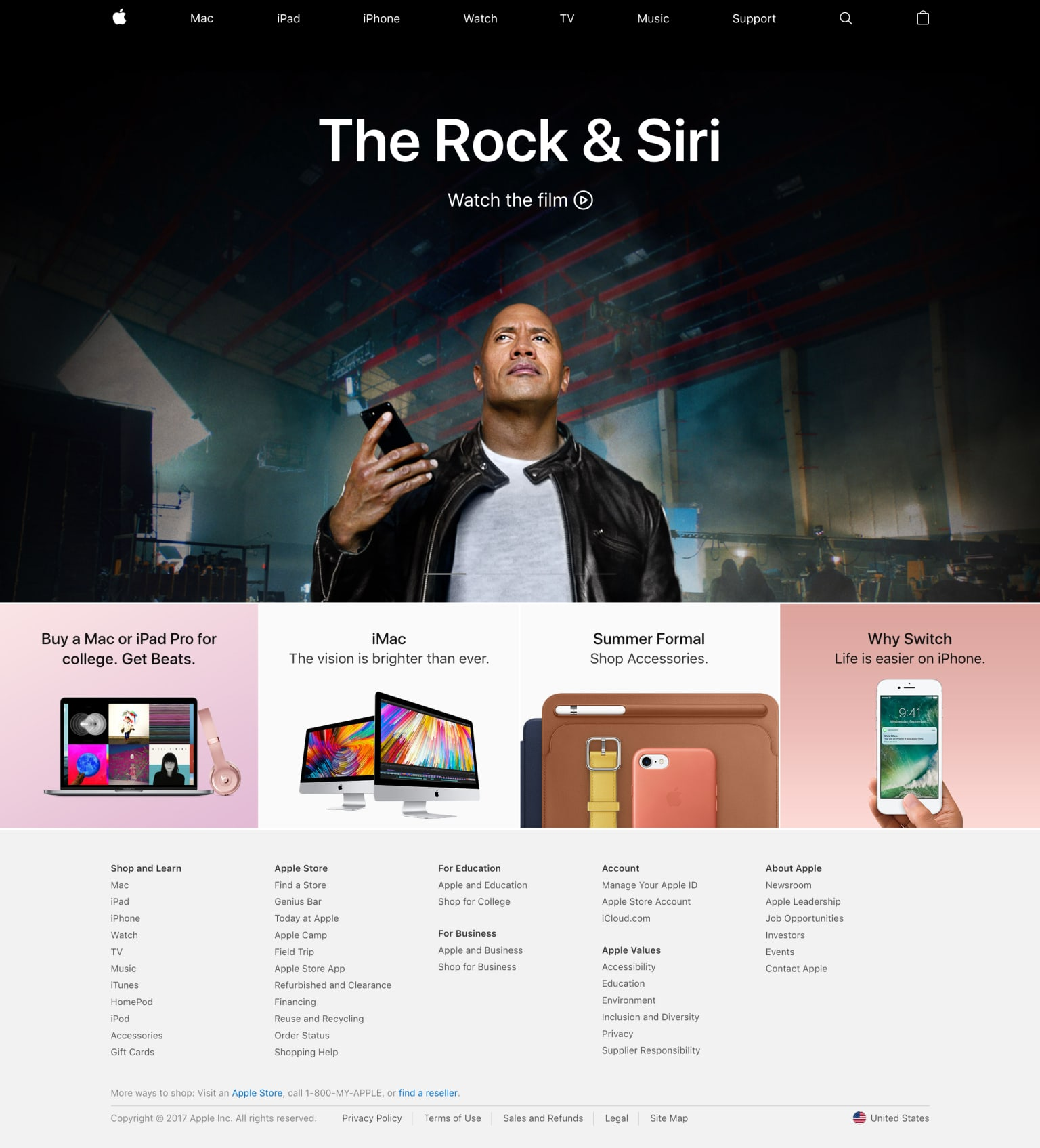 The Rock & Siri