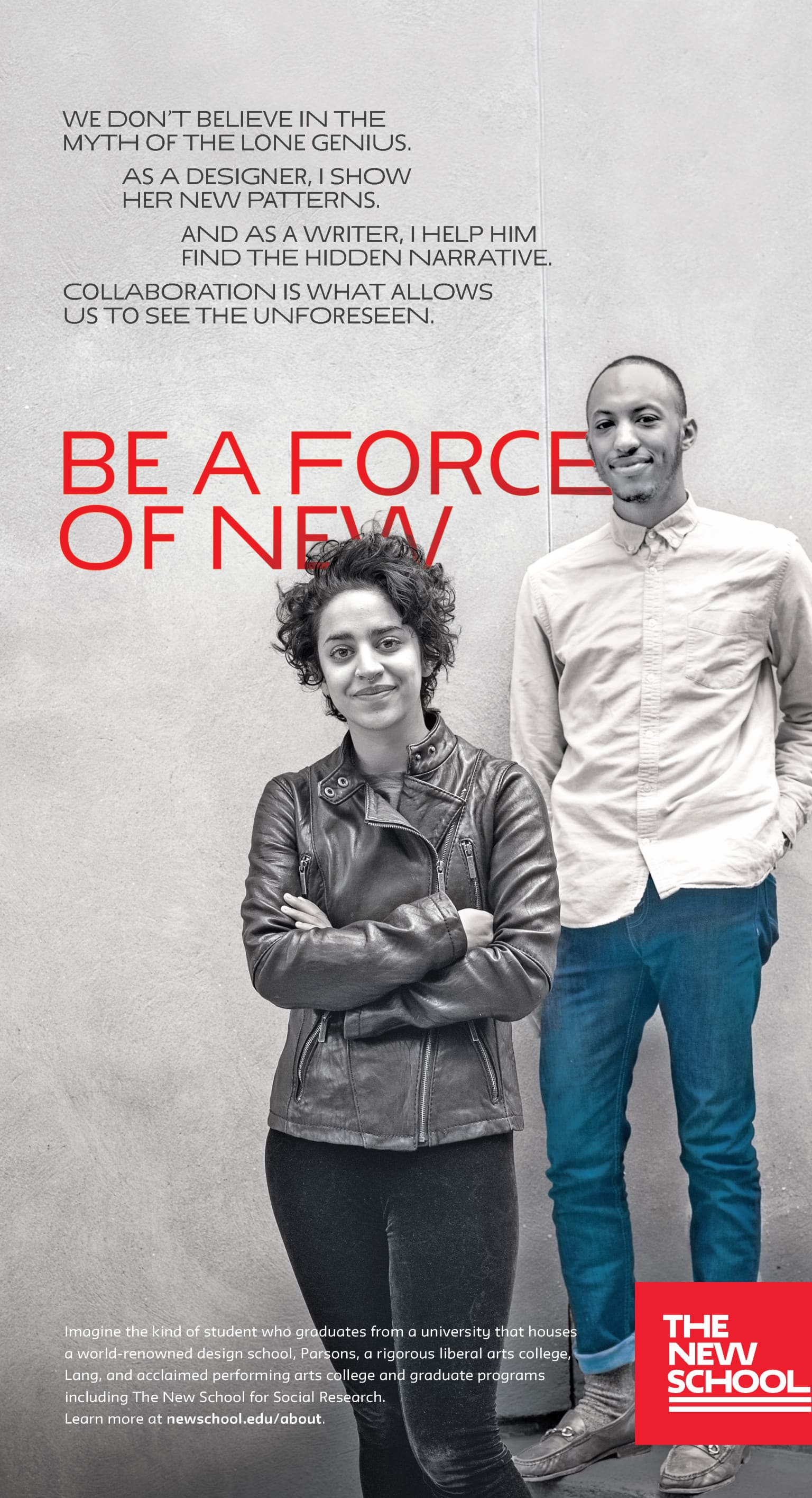 'Be A Force of New' Print Ads