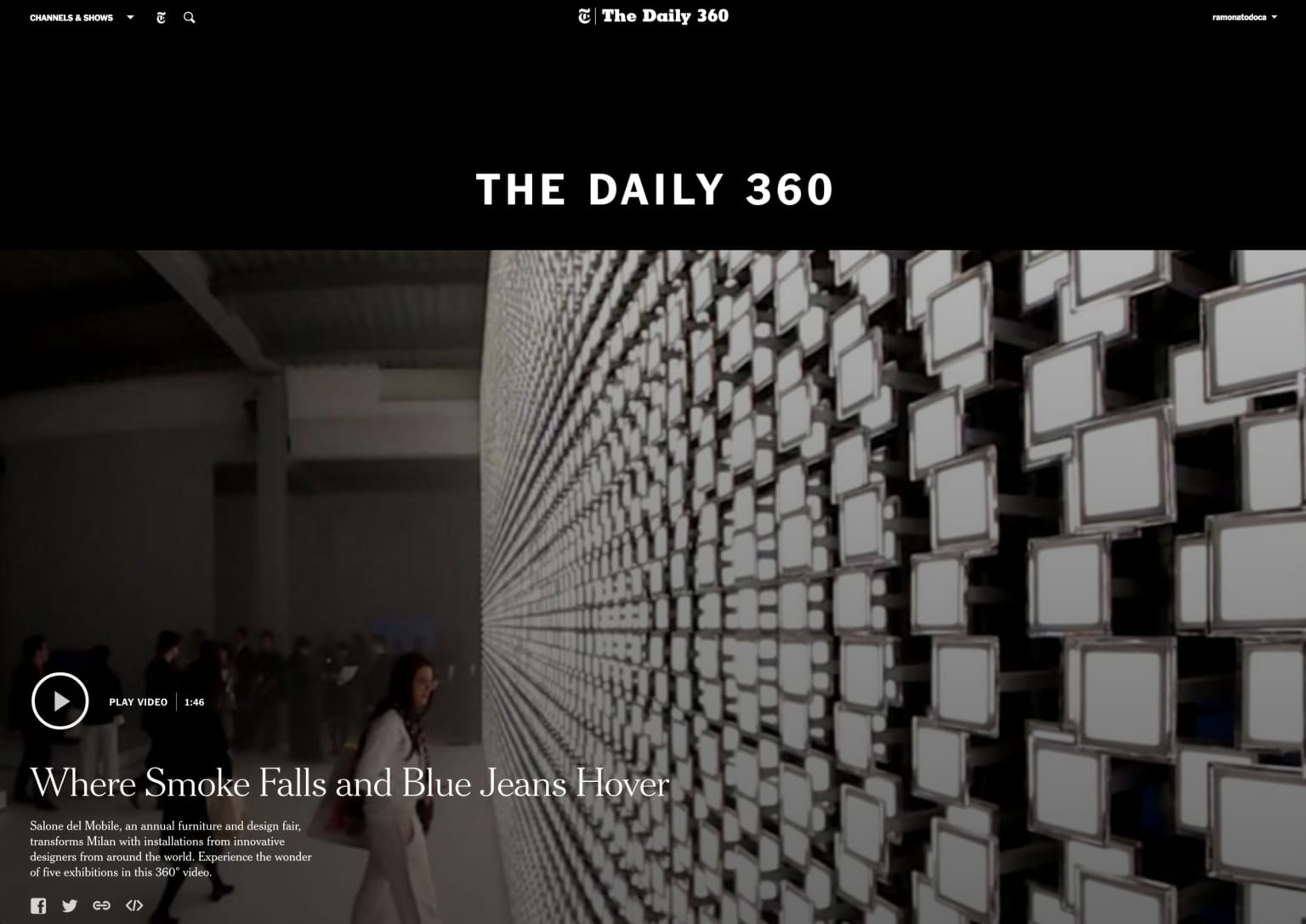 NYTimes: The Daily360