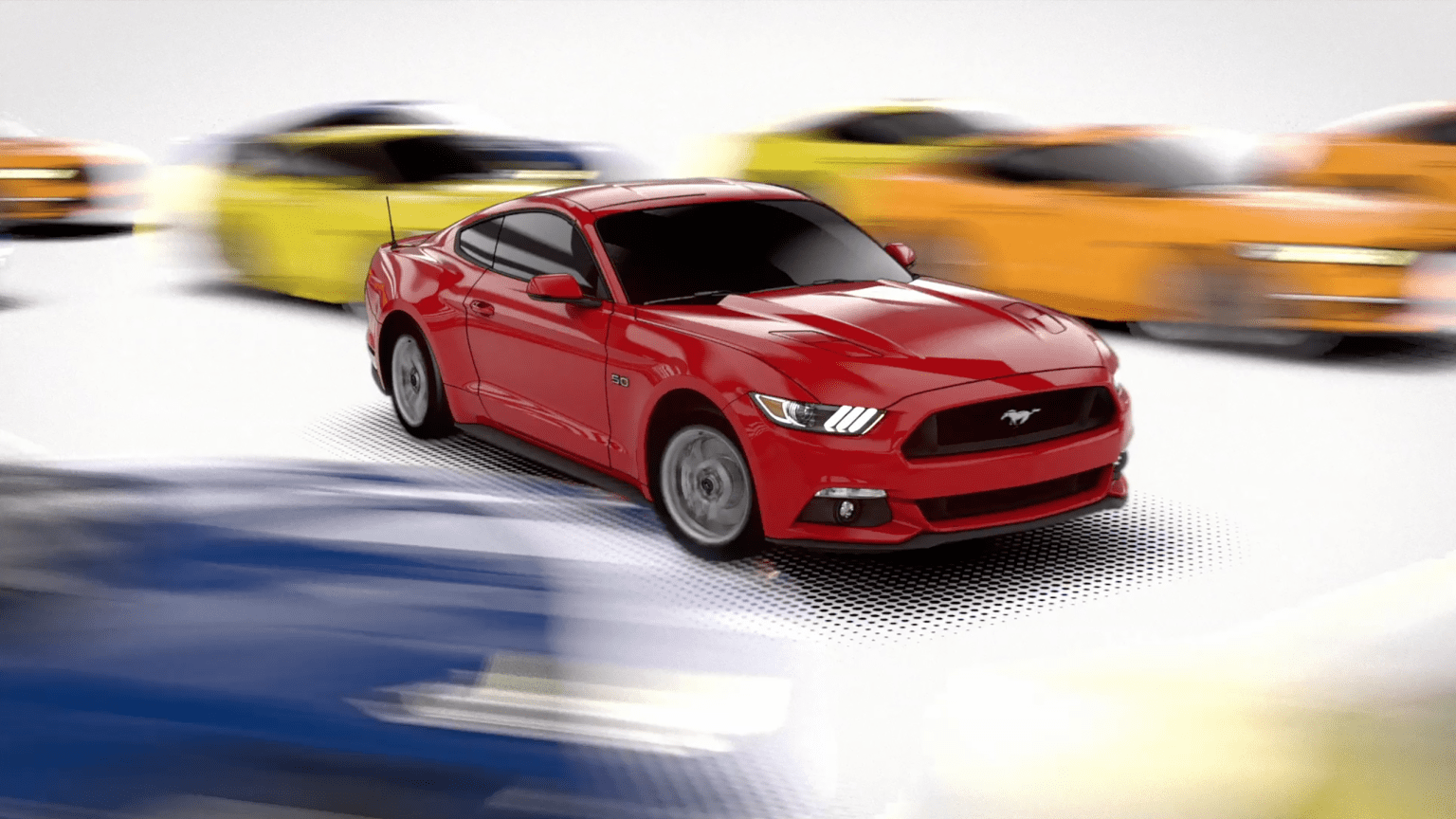 """Ford Mustang """"Bend Me Shape Me"""""""
