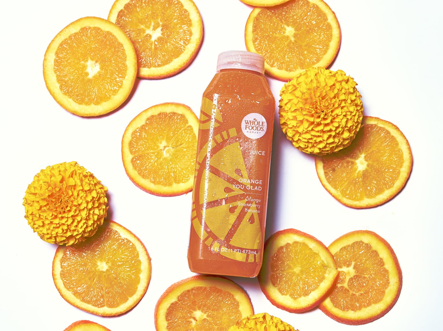 Whole Foods Juice Product Shoot