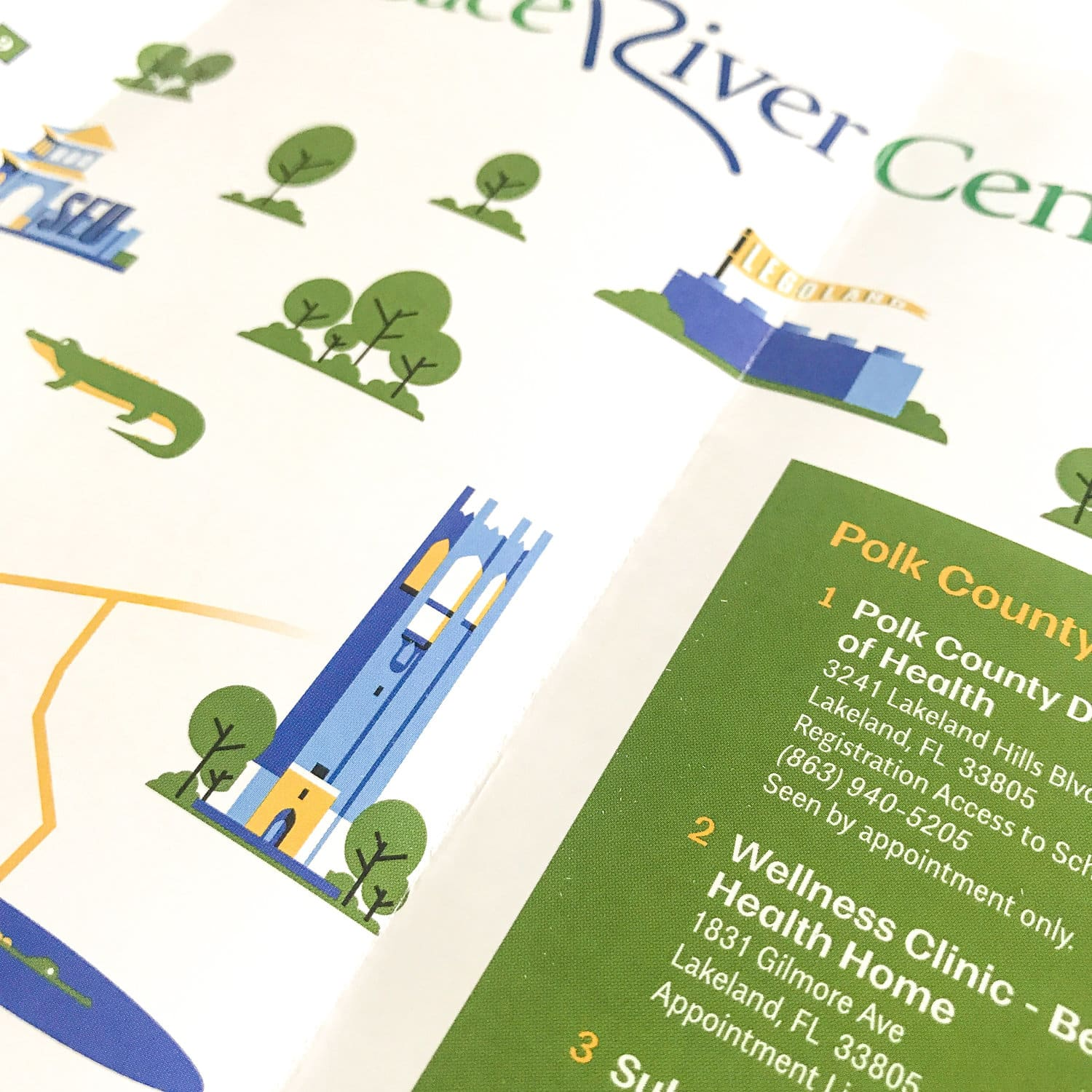 Peace River Center Locations Map