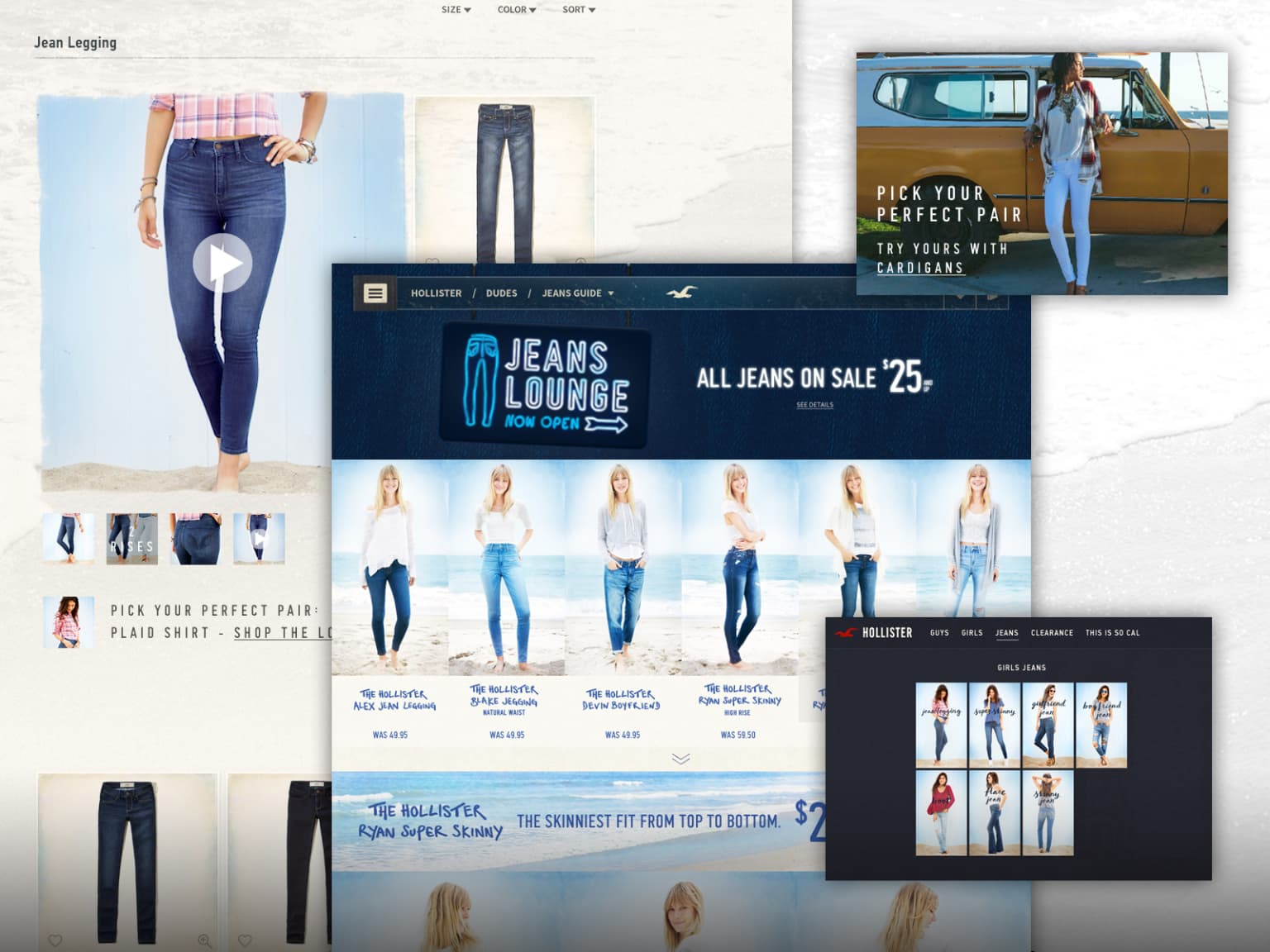 Hollister Co. Jeans Experience