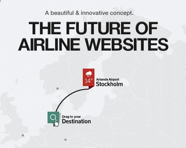 The future(?) of Airline websites