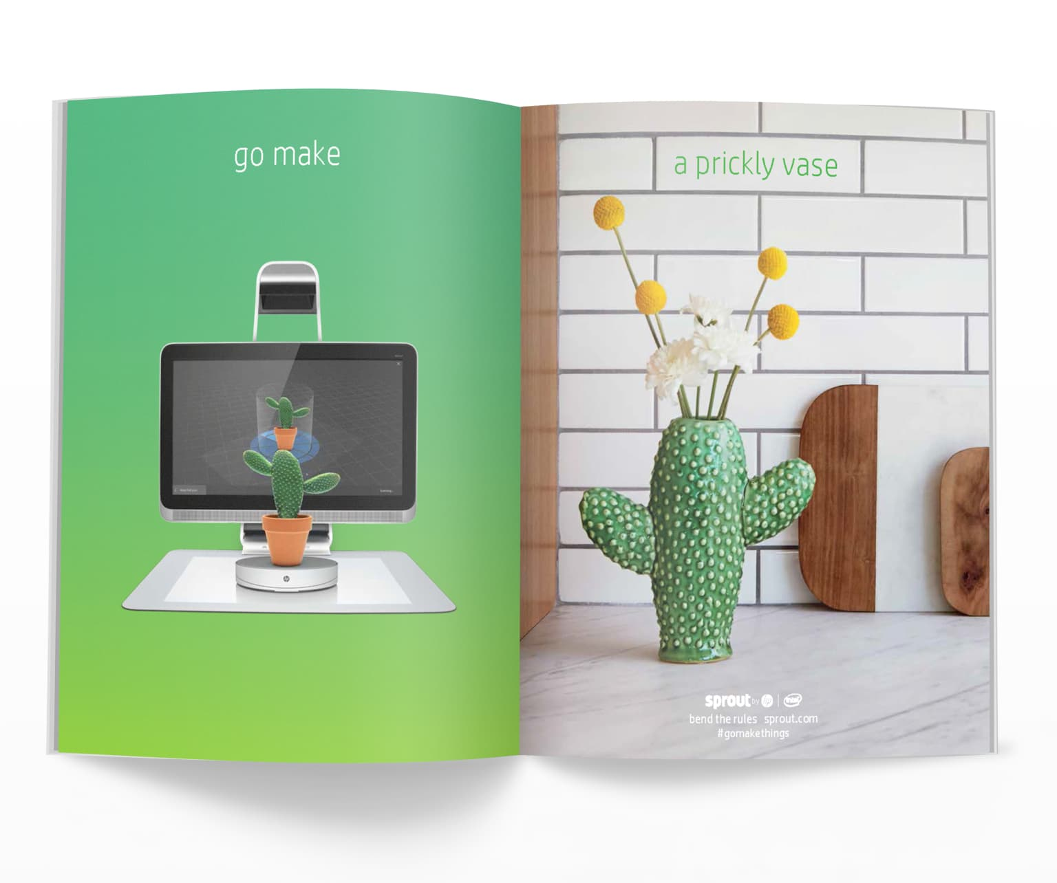 HP Sprout | Go Make