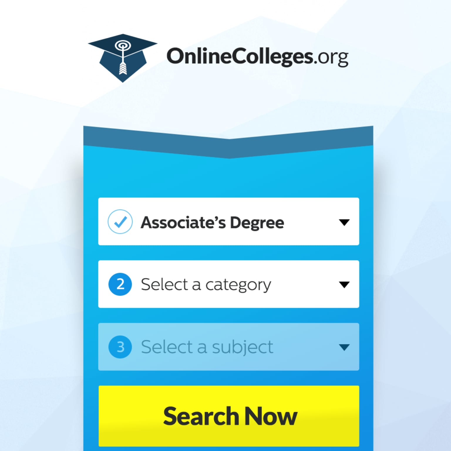 OnlineColleges.org CRO Redesign