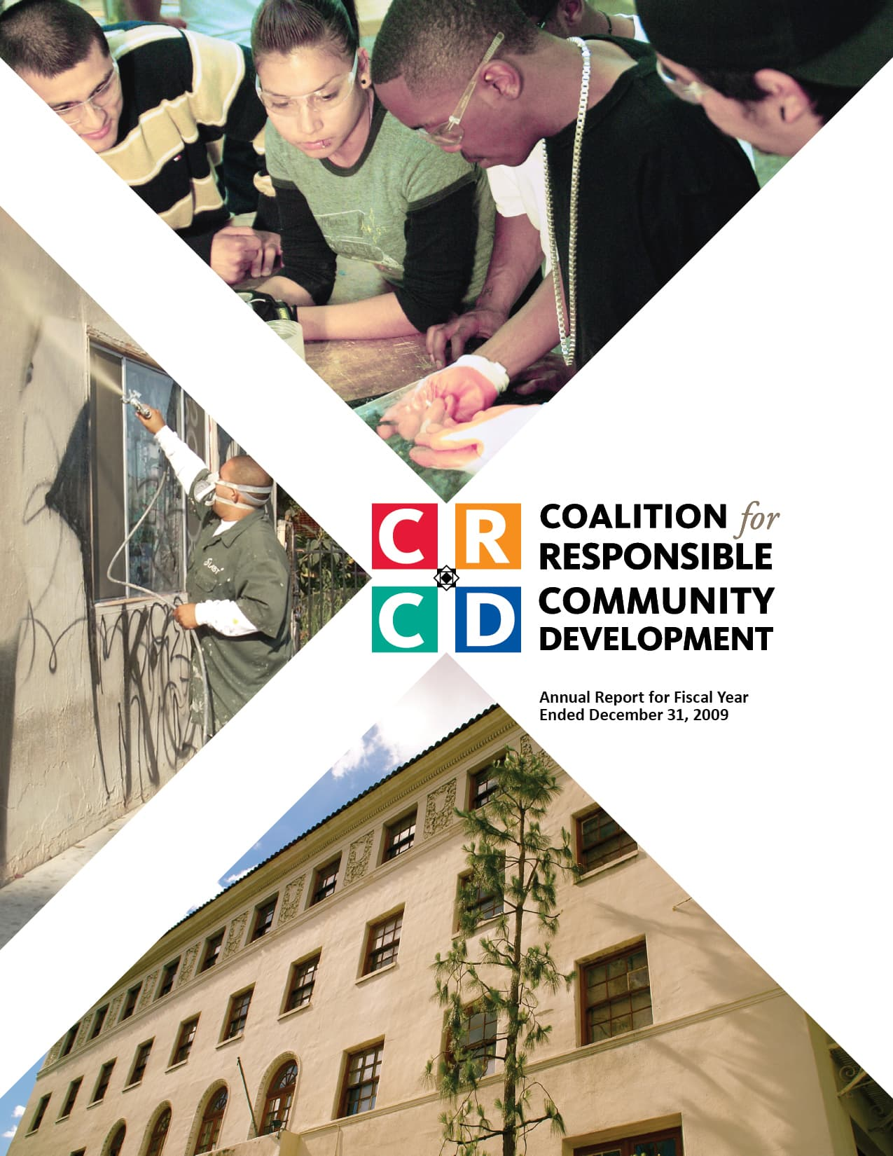 annual report for Coalition for Responsible Community Development (CRCD)