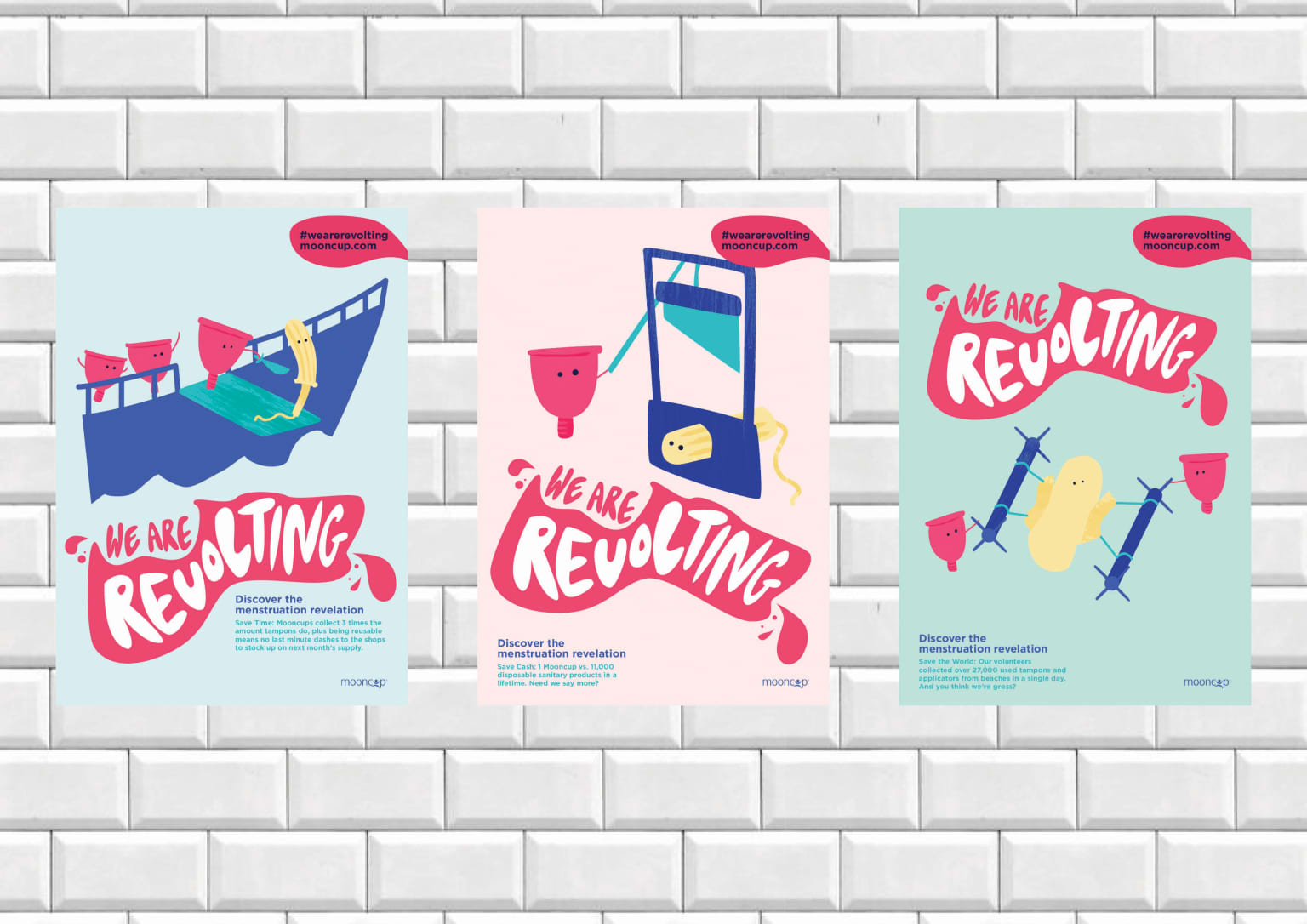 MoonCup - Campaign to reinvent a brand with an image problem
