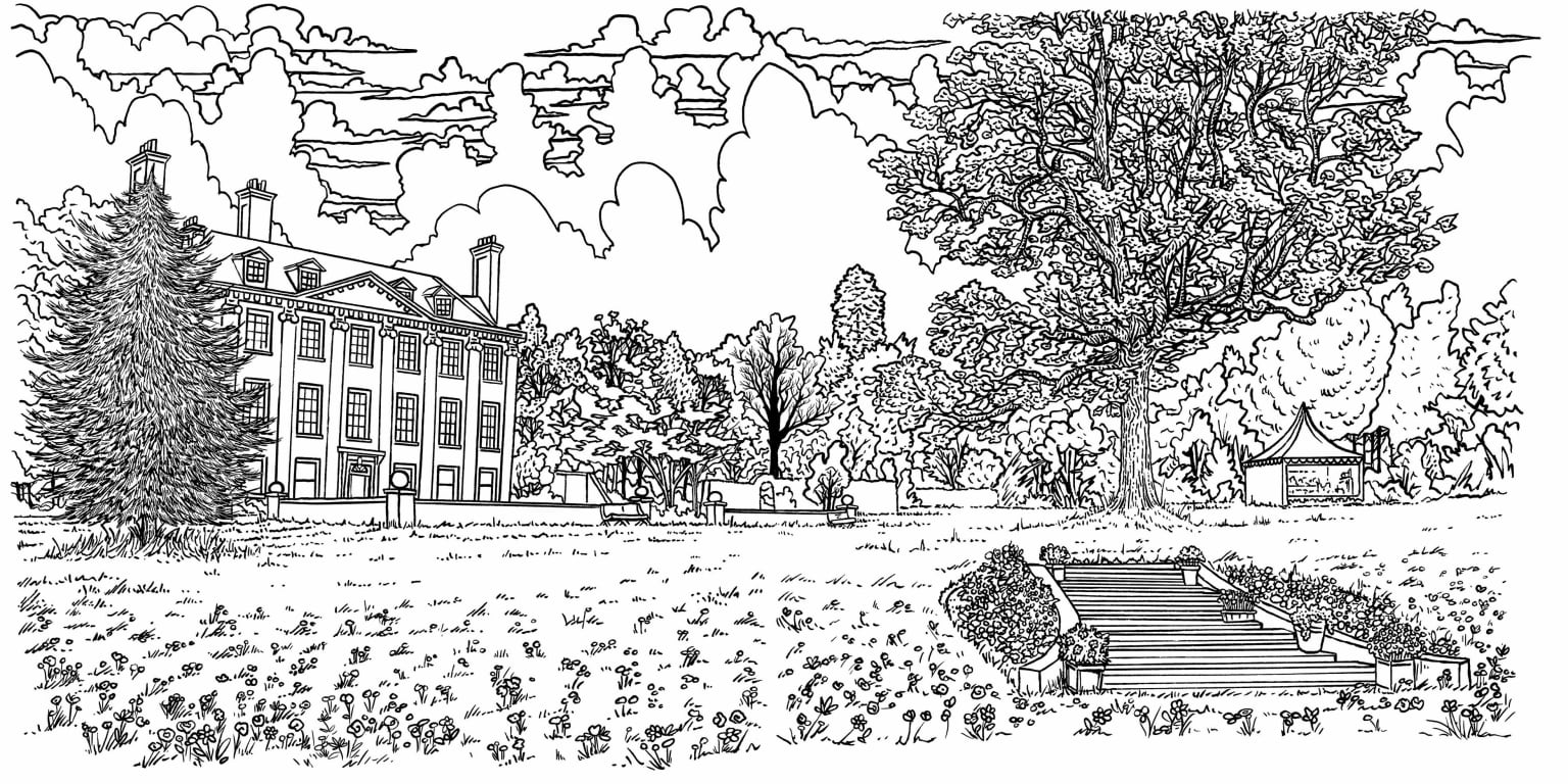 The Great British Bake Off Colouring Book