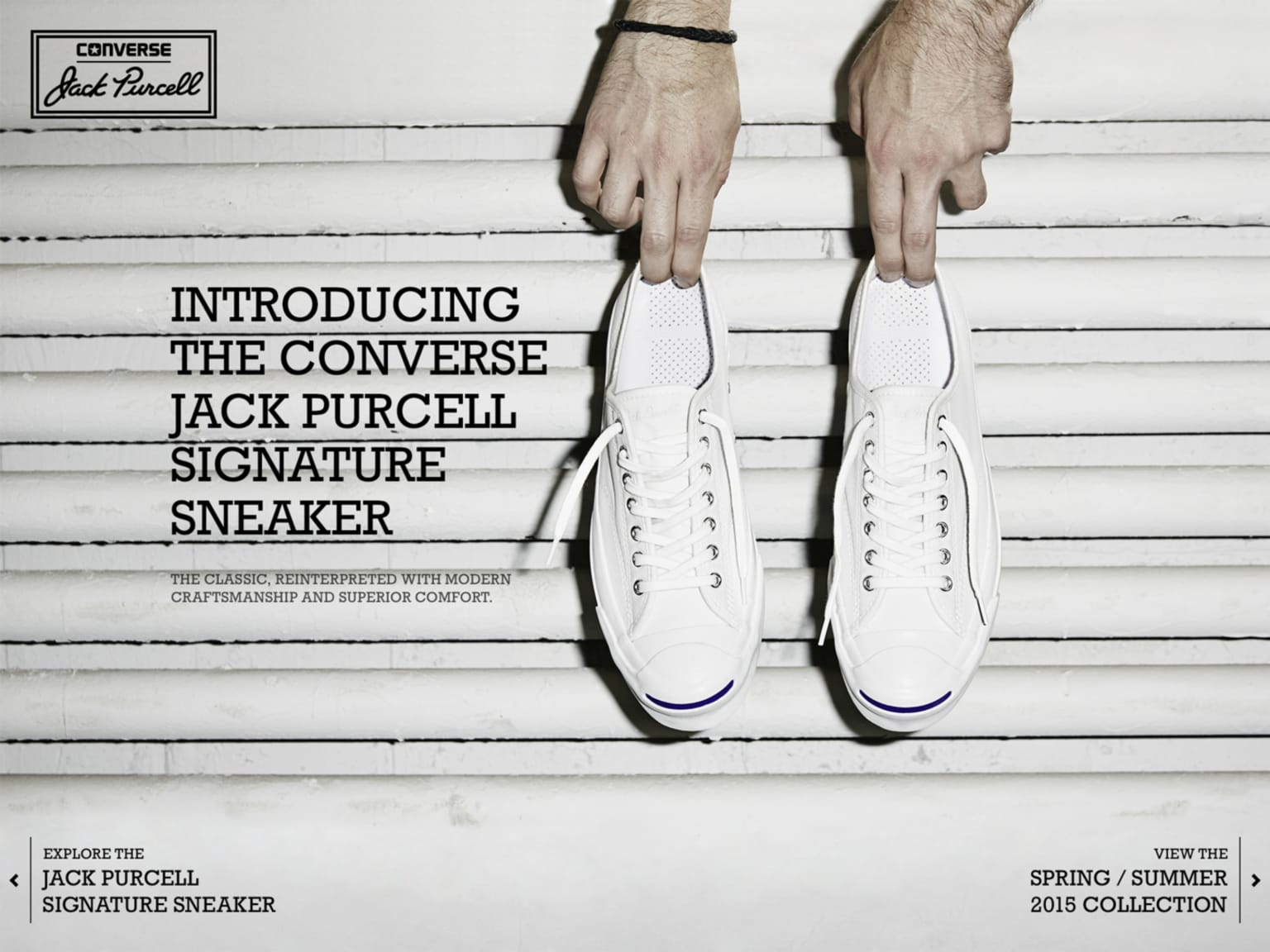 Jack Purcell Signature launch