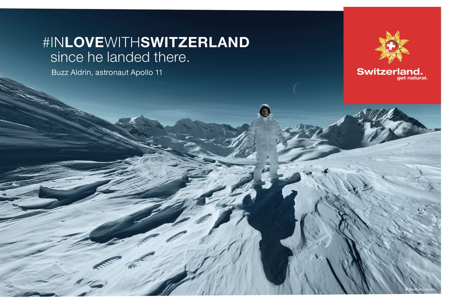 "Swiss Tourism Campaign ""In love with Switzerland"""