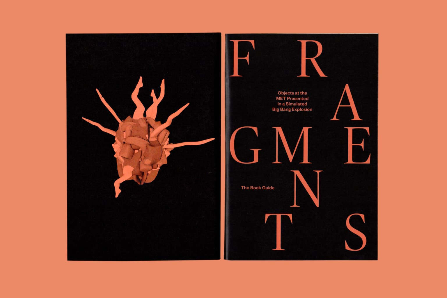 Fragments: Objects at the MET presented in a simulated Big Bang Explosion