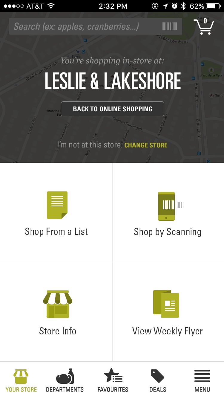 Loblaws online shopping experience