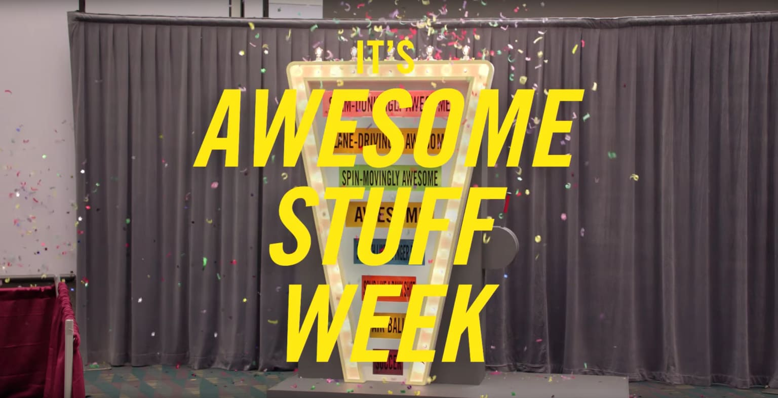 Awesome Stuff Week at YouTube
