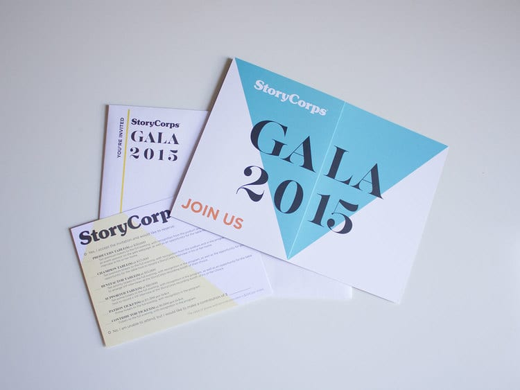 StoryCorps 3rd Annual Gala