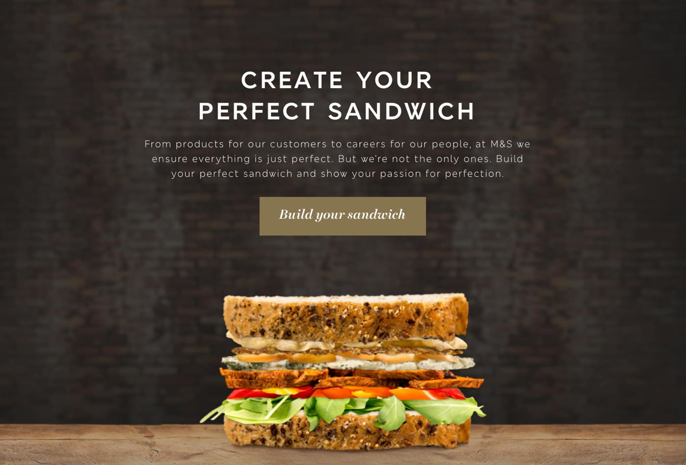 M&S Your Perfect Sandwich