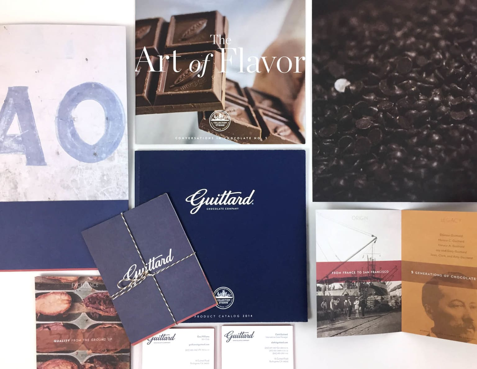 Guittard Chocolate Packaging and Collateral
