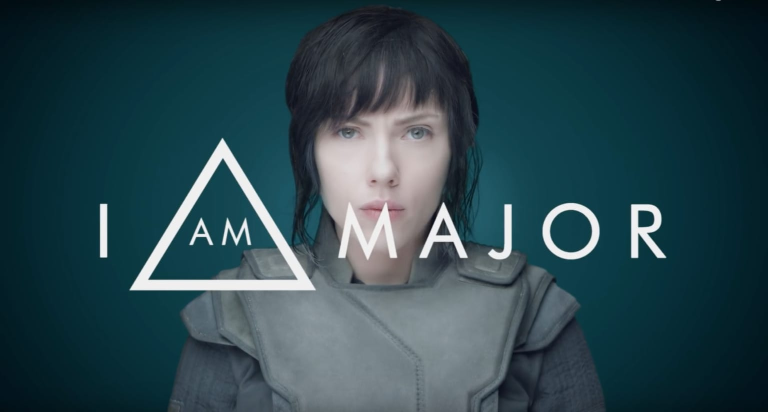 """I Am Major - Trailer for feature film """"Ghost in the Shell"""""""