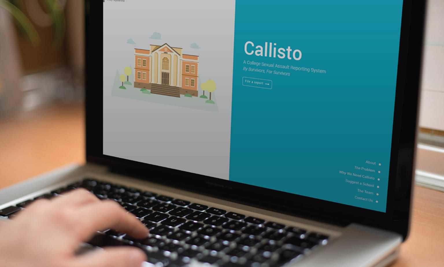 Callisto, a College Sexual Assault Reporting System