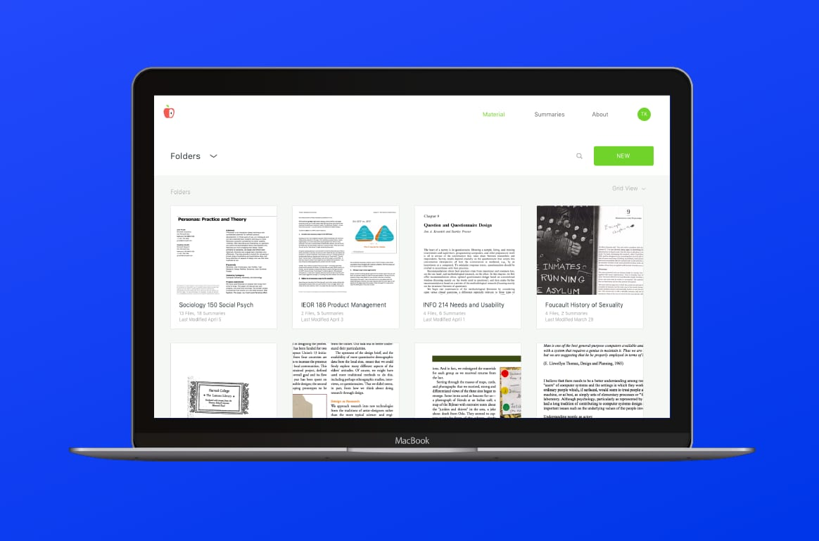 Ace, a Reading Tool