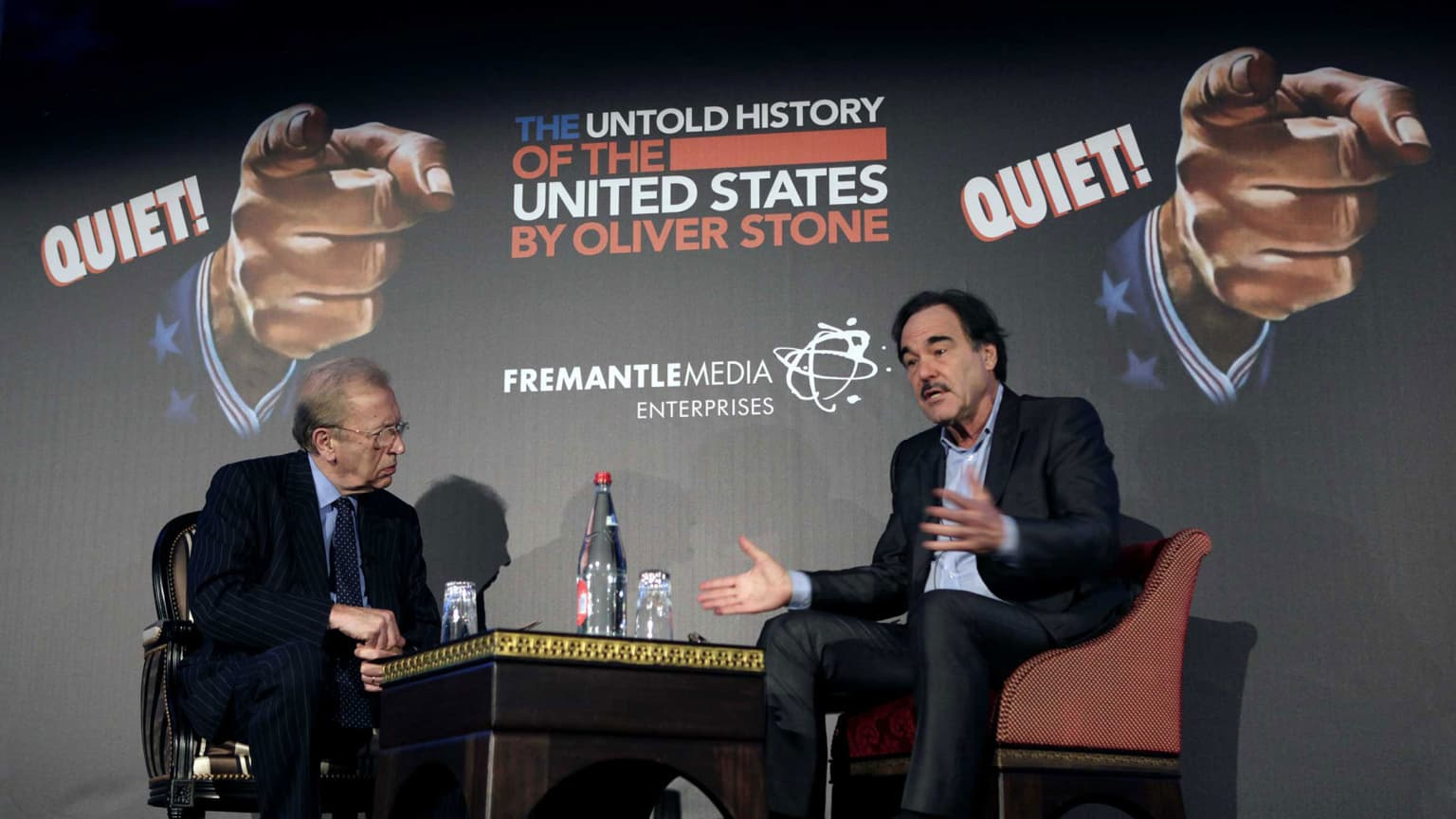 Oliver Stone's Untold History of the United States Campaign