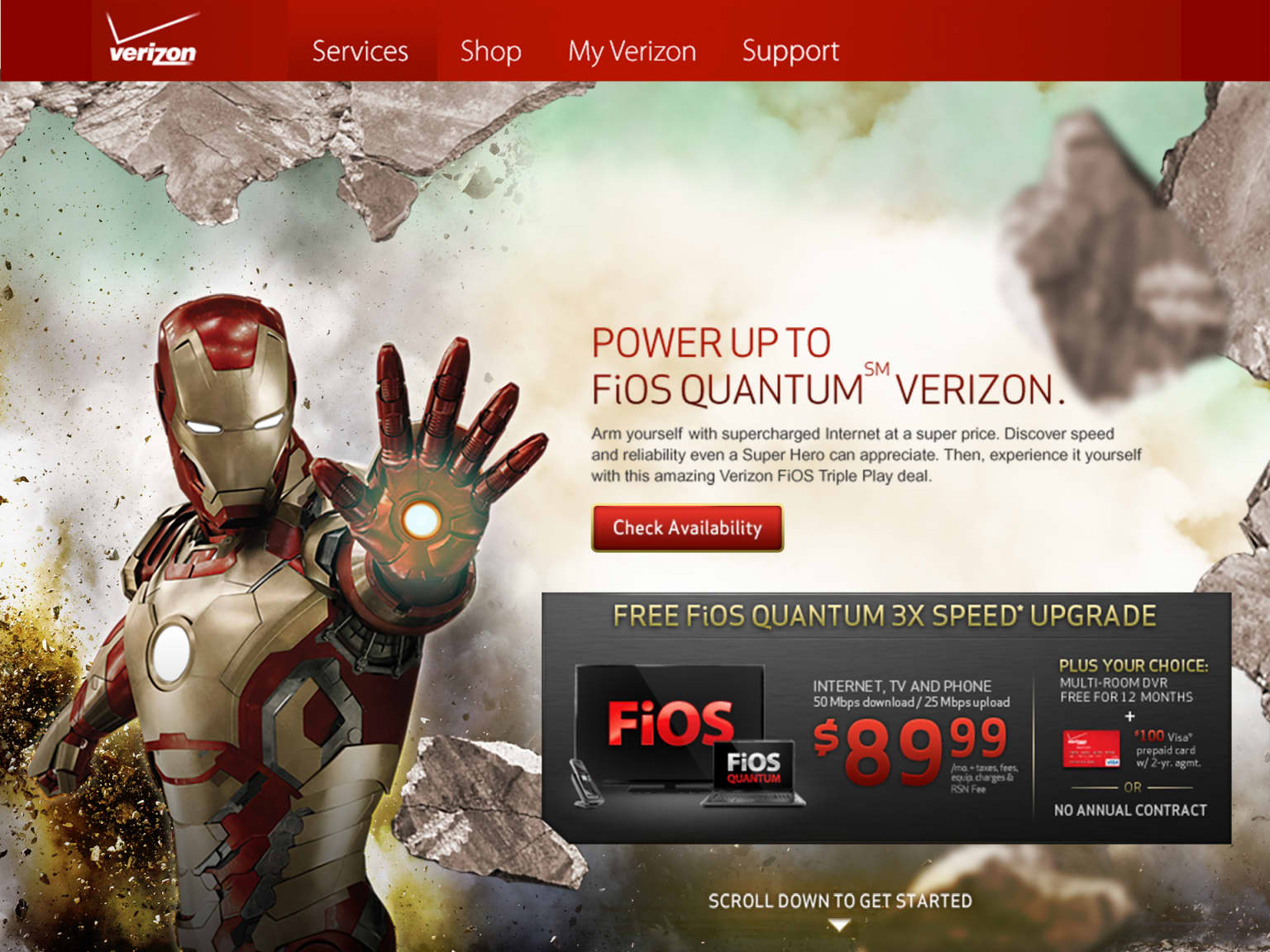 Iron Man & Verizon