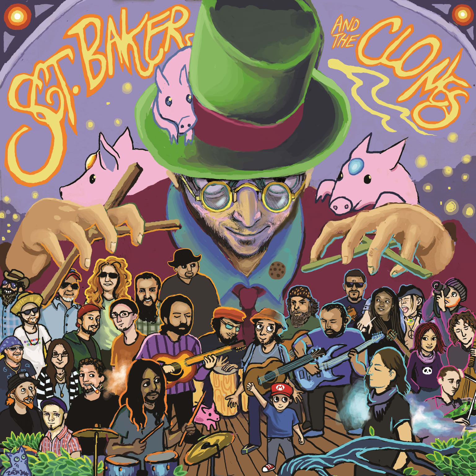 Sgt. Baker and the Clones Album Cover