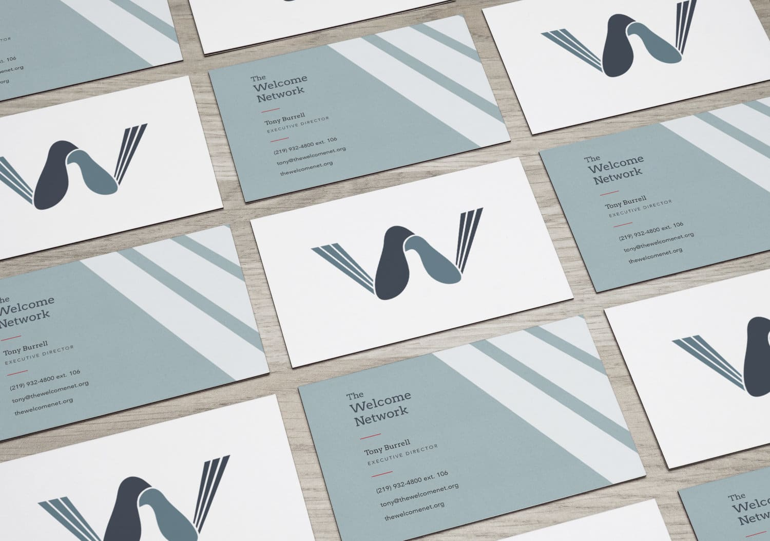 The Welcome Network - Branding