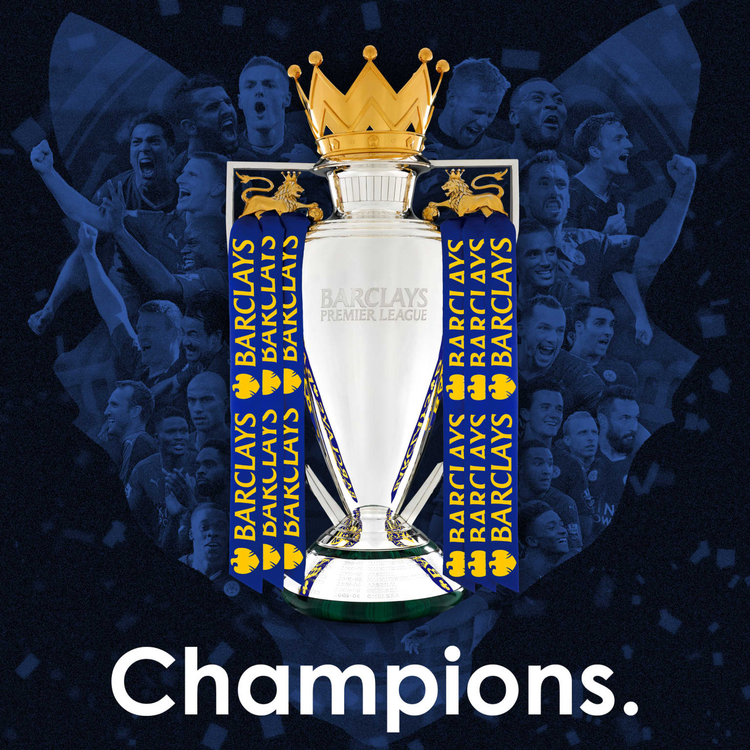 Leicester City - Champions graphic