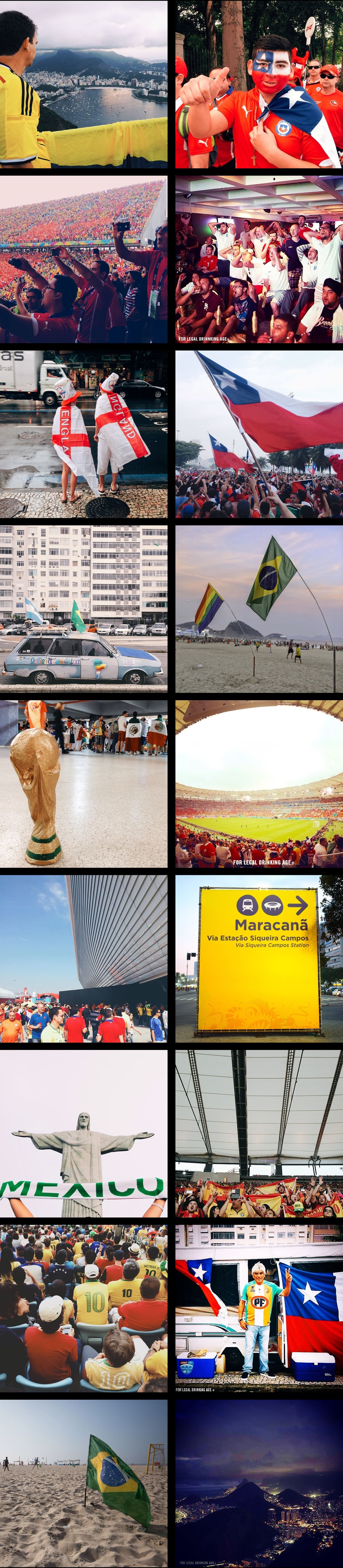 Rise as One in Rio: The 2014 World Cup