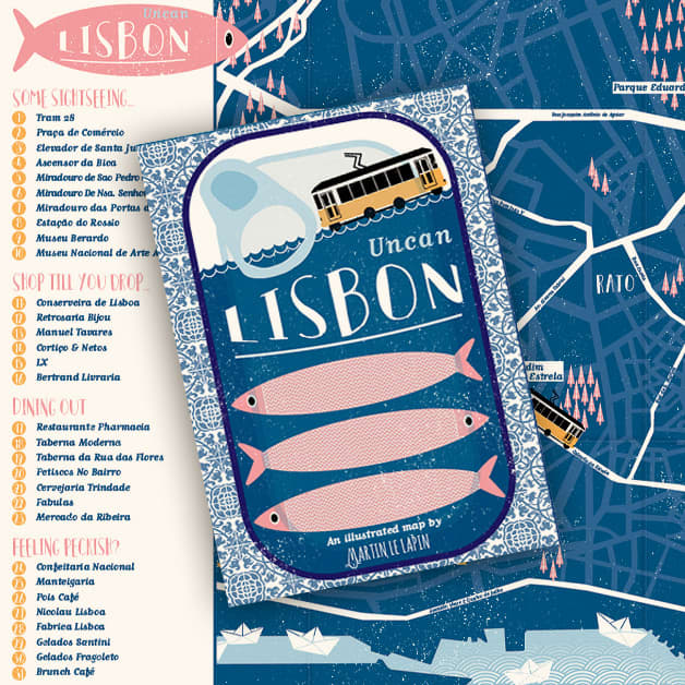 Uncan Lisbon - An illustrated travel guide