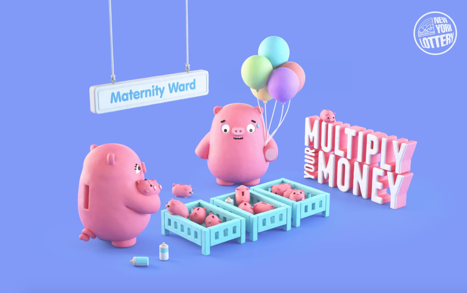 Multiply Your Money // New York Lottery
