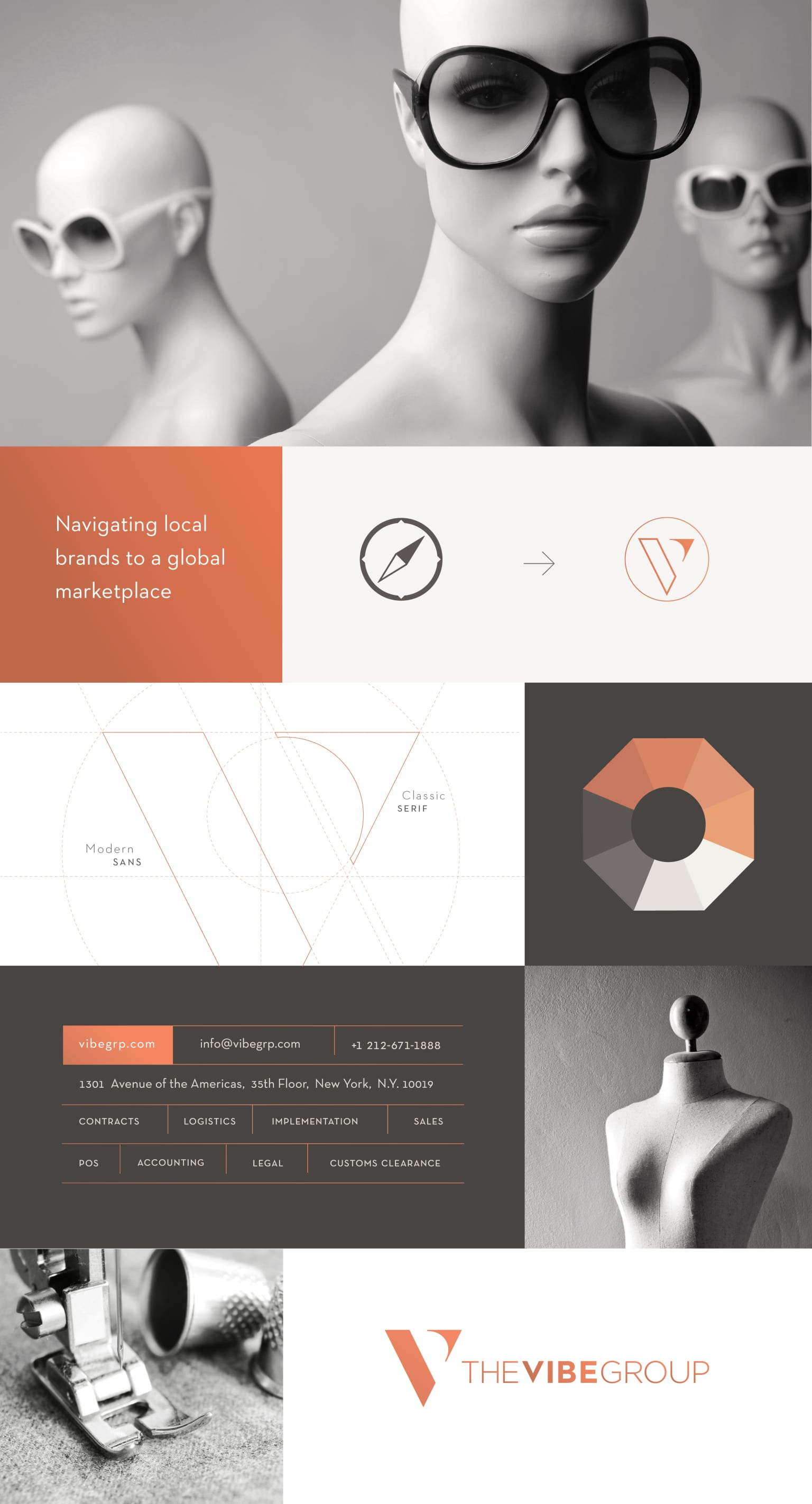The Vibe Group Brand Identity