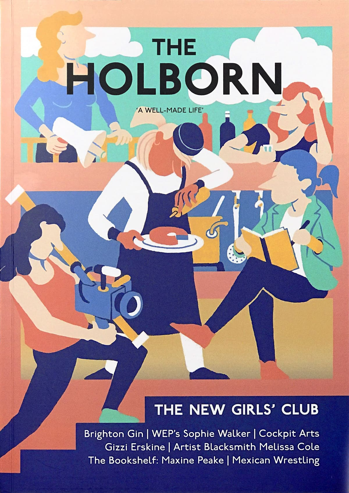 The Holborn Cover Illustration