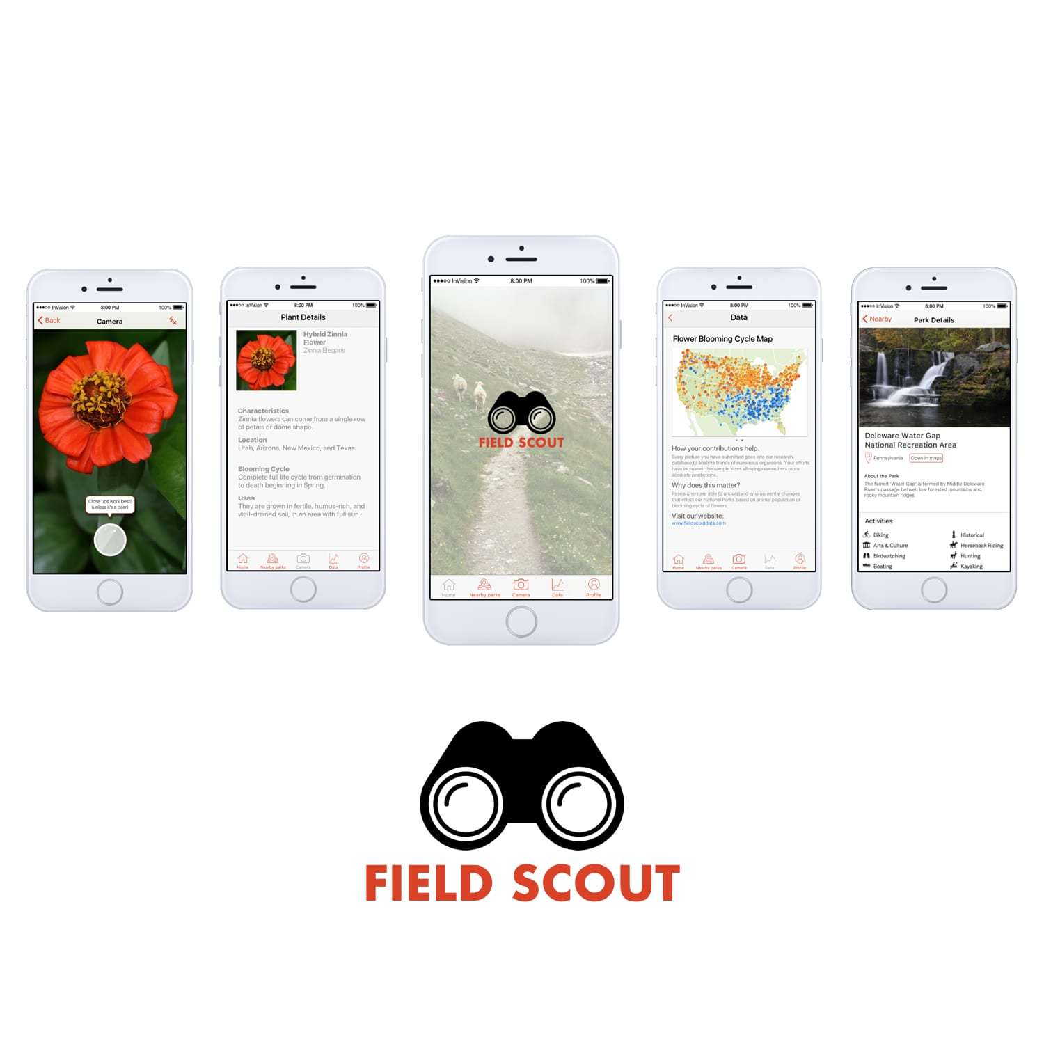 Field Scout iOS app UX Design & Research