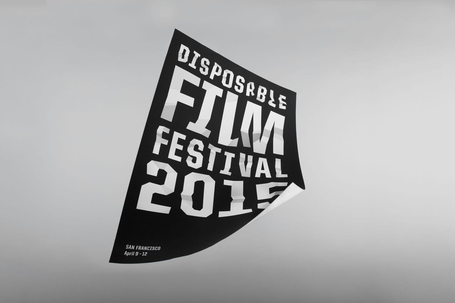 Disposable Film Festival Identity